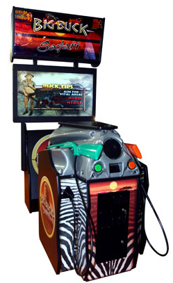 Big Buck Safari deluxe cabinet