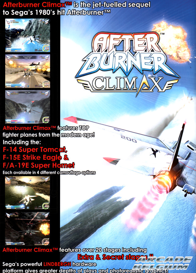 After Burner Climax Flyabcb