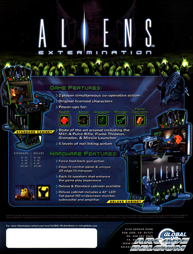 Aliens: Extermination Flyaeb