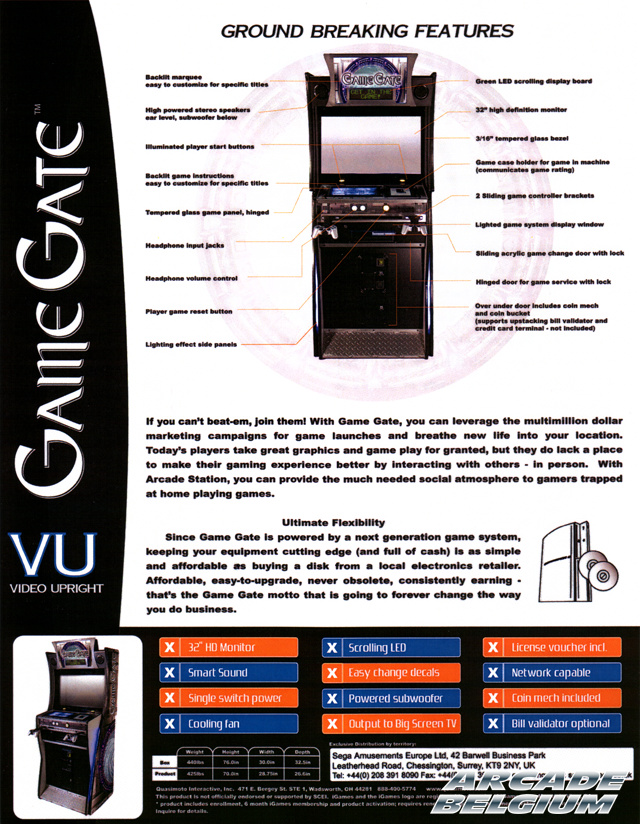 Game Gate VU / Play-On Flyggvu02