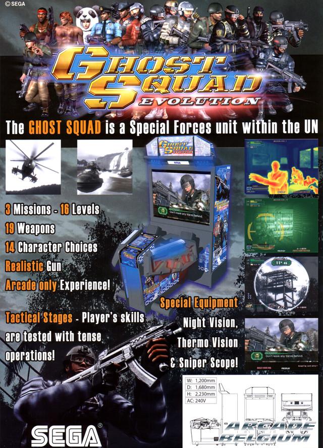 Ghost Squad Evolution Flygseb
