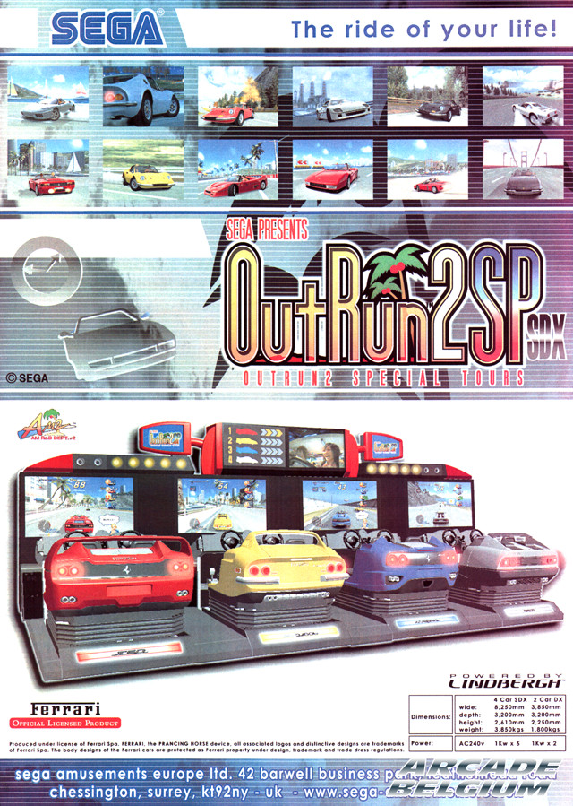 OutRun 2 SP SDX side A