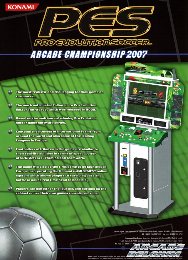 borne arcade football