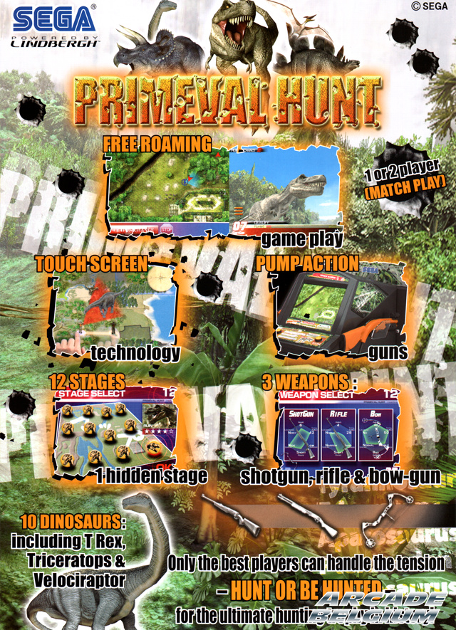 Primeval Hunt brochure side B
