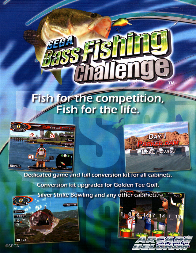 Sega Bass Fishing Challenge Flysbfc01