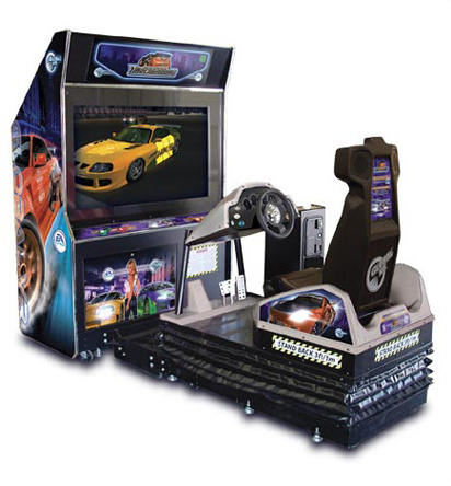Need for Speed Underground deluxe cabinet