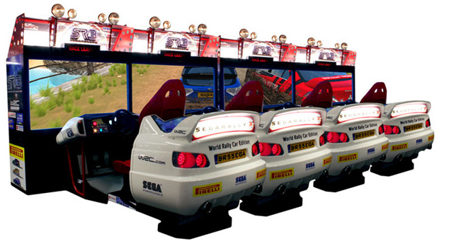 borne arcade rally