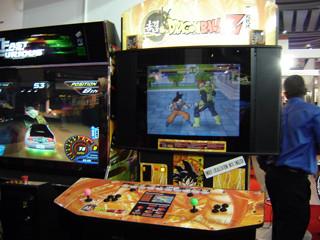 z arcade super dragon ball