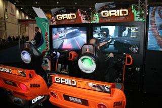 borne arcade grid