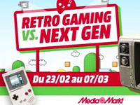 Retro-Gaming Vs. Next-Gen au Media Markt de Gosselies