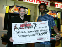 Tekken 5 UK Tournament result
