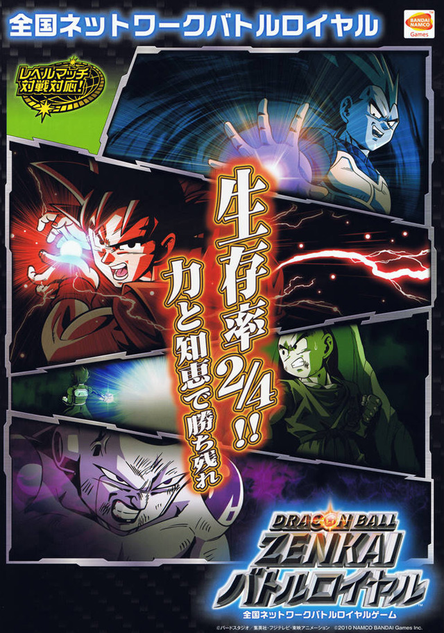 Dragon Ball Zenkai Battle Royale Dbz01