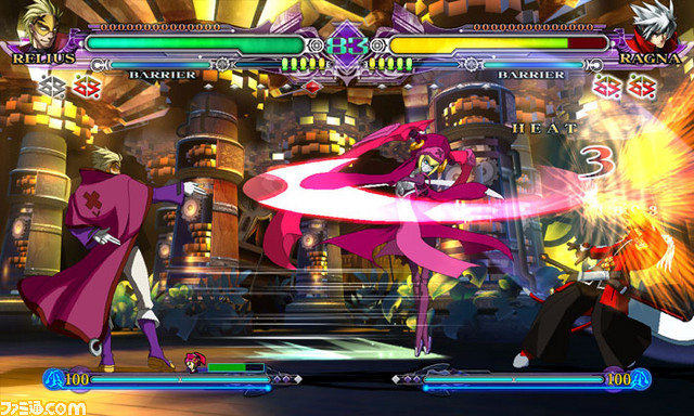 BlazBlue Continuum Shift II Relius_01