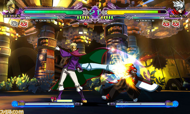 BlazBlue Continuum Shift II Relius_02