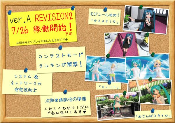Hatsune Miku Project DIVA Arcade Verarev2a